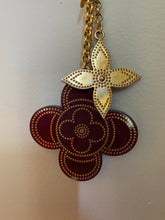 Load image into Gallery viewer, Louis Vuitton Flower bag charm