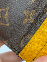 Load image into Gallery viewer, Louis Vuitton Josephine wallet with yellow interior