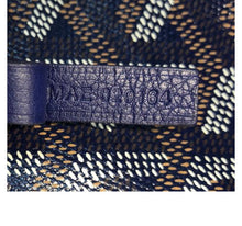 Load image into Gallery viewer, Goyard St. Louis PM dark blue tote with pouch