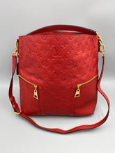 Load image into Gallery viewer, Louis Vuitton Melie Empreinte Monogram red with strap