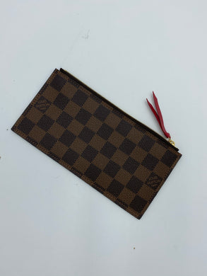 Louis Vuitton ebene zip coin pouch