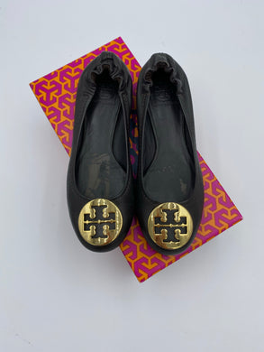 Tory Burch Reva Brown flats