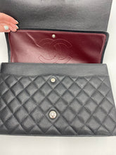 Load image into Gallery viewer, Chanel Maxi Black Caviar Double flap bag