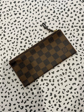Load image into Gallery viewer, Louis Vuitton Continential zip pouch ebene