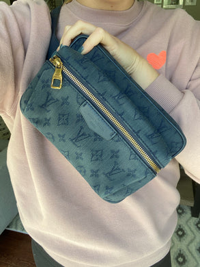 Louis Vuitton Denim Bumbag