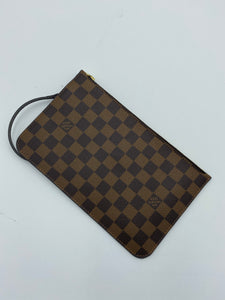 Louis Vuitton Neverfull ebene pouch