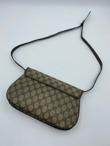 Gucci Vintage Web flap bag