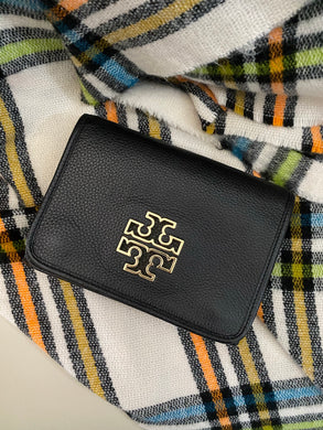 Tory Burch Black Britten crossbody