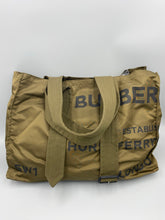 Load image into Gallery viewer, Burberry Belt Detail Nylon Large tote