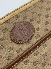 Load image into Gallery viewer, Gucci GG print clutch/pouch