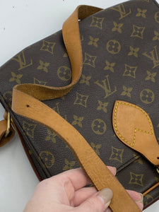 Louis Vuitton Cartouchiere GM monogram crossbody