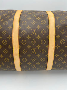 Louis Vuitton Keepall 60 Bandouliere monogram bag with strap