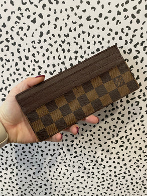 Louis Vuitton Continential credit card holder ebene