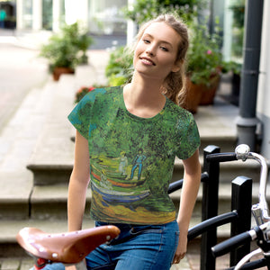 All over Arte Print Crop Tee VanGogh