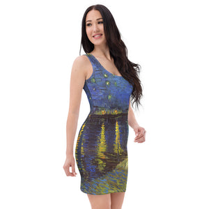 Sublimation Cut & Sew Dress all over Arte VanGogh StNight