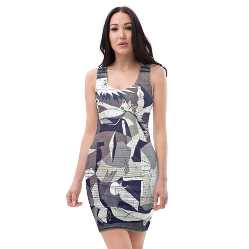 All over Arte Sublimation Cut & Sew Dress Picasso