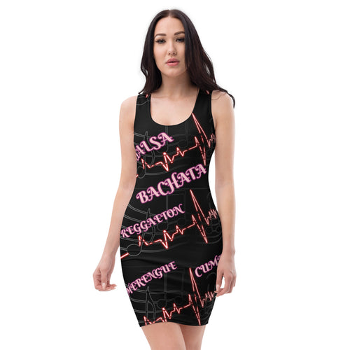 All over Latin music lovers Sublimation Cut & Sew Dress
