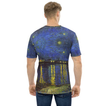 Load image into Gallery viewer, Men's T-shirt all over Arte VanGogh StNight