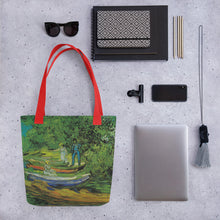 Load image into Gallery viewer, All over Tote bag Arte VanGogh