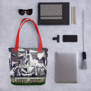 All over Tote bag Arte Picasso