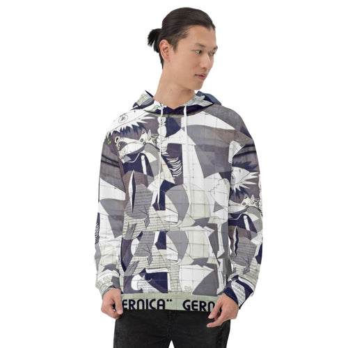 all over Unisex Hoodie Arte picasso