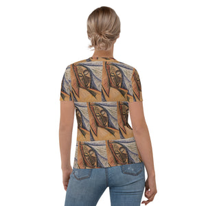 All over Women's T-shirt Arte Picasso