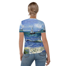 Load image into Gallery viewer, all over Women's T-shirt Arte VanGogh