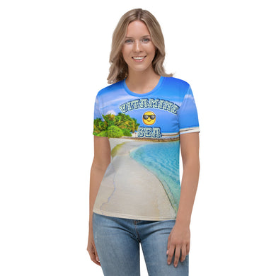 All over summer beach mode Women's T-shirt