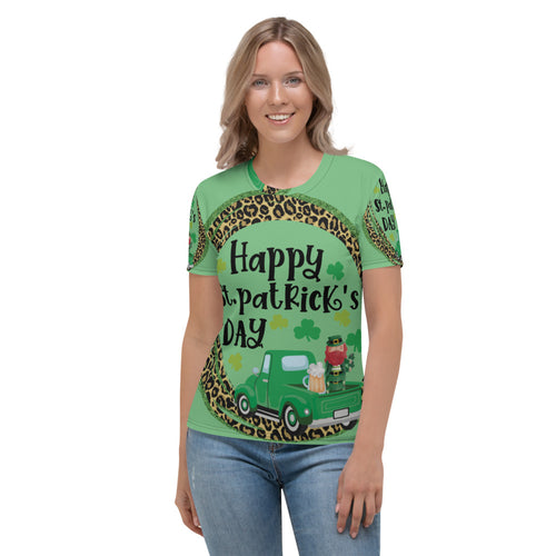 All over Saint patrick's women's T-shirt