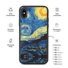 Load image into Gallery viewer, All over Biodegradable phone case Arte VanGogh