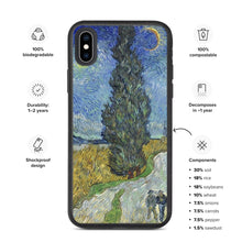 Load image into Gallery viewer, All over Arte Van Gogh Biodegradable phone case
