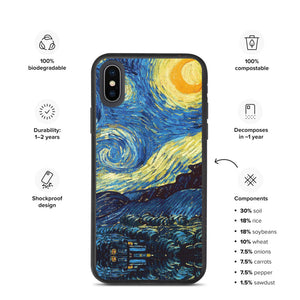 All over Biodegradable phone case Arte VanGogh