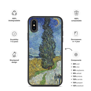 All over Arte Van Gogh Biodegradable phone case