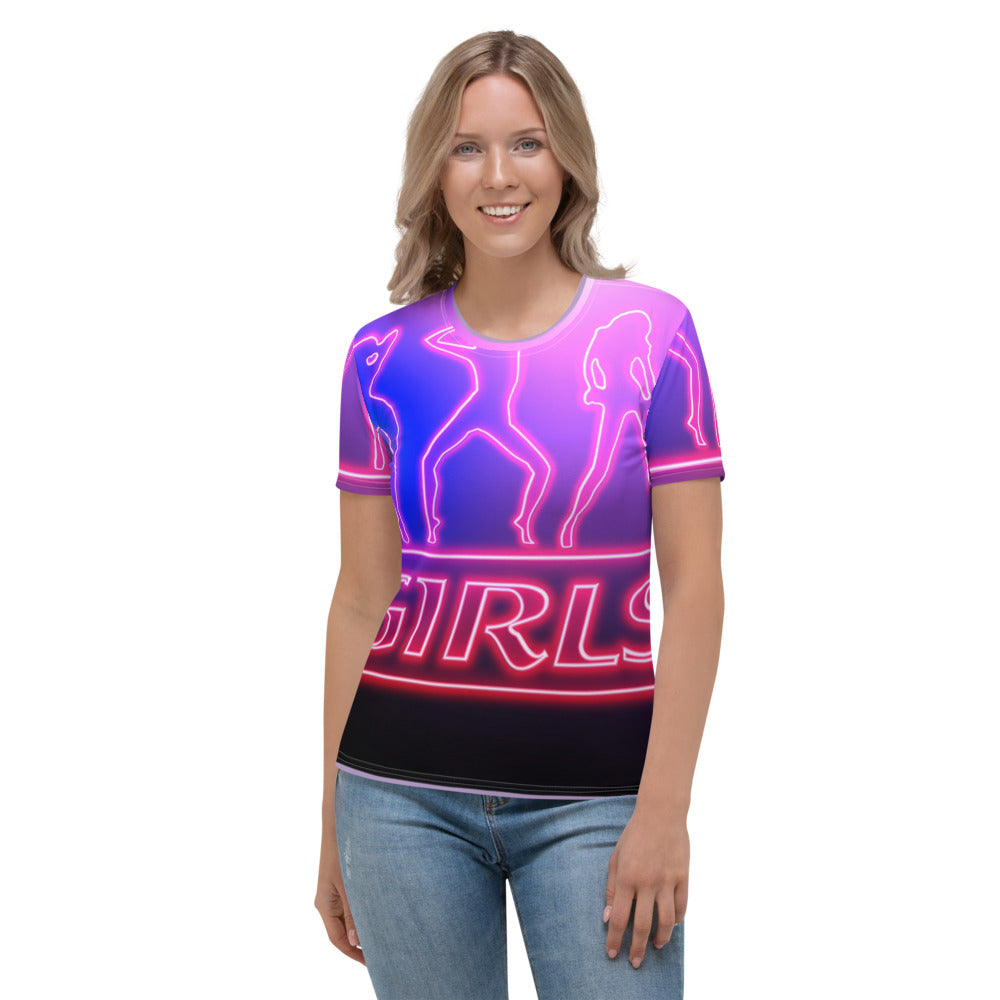 Women's T-shirt all over girls