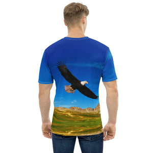 Men's T-shirt all over nature
