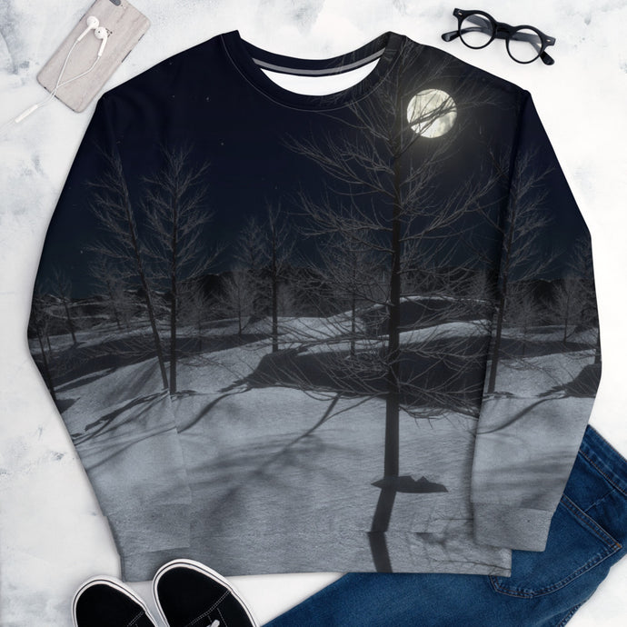 Unisex Christmas night Sweatshirt