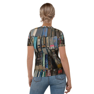 Women's T-shirt Book Lover
