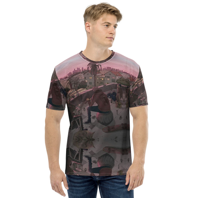 Men's T-shirt all over balcomy