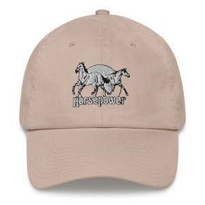 Dad hat horsepower