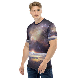 Men's T-shirt all over space