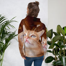 Load image into Gallery viewer, Unisex Christmas Cat Hoodie