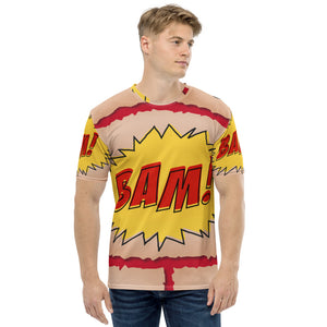 Men's T-shirt all over BAM
