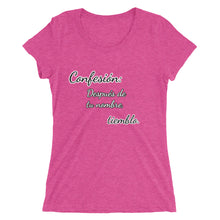 Load image into Gallery viewer, Ladies' short sleeve t-shirt Romance