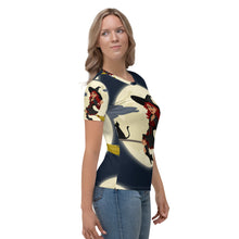 Load image into Gallery viewer, Women's T-shirt all over witch