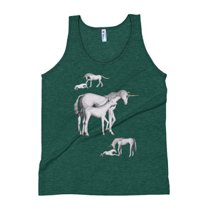 Unisex Tank Top special horsepower