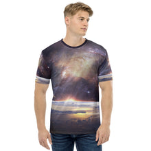 Load image into Gallery viewer, Men's T-shirt all over space