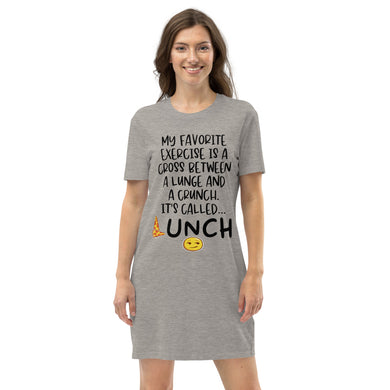 Funny summer Organic cotton t-shirt dress