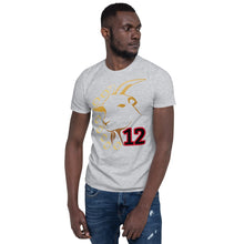 Load image into Gallery viewer, GOAT Football 12 Short-Sleeve Unisex T-Shirt