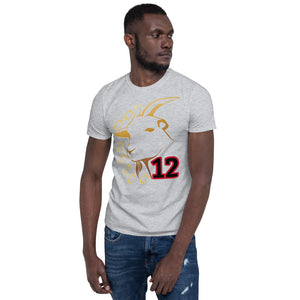 GOAT Football 12 Short-Sleeve Unisex T-Shirt