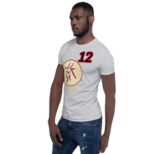 Load image into Gallery viewer, GOAT 12 football Short-Sleeve Unisex T-Shirt